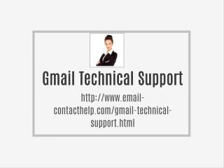 Gmail Technical Support Email id