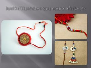 Conveyed your loved one via erakhigifts.com & send rakhi to Lucknow