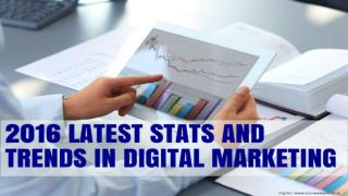 2016 Latest Stats And Trends In Digital Marketing
