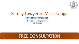Family lawyer in Mississauga | SLC Lawyer
