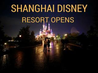 Shanghai Disney Resort opens