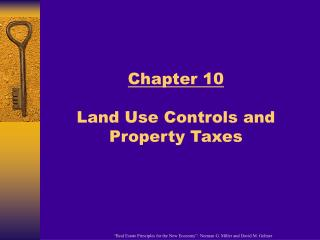 Chapter 10 Land Use Controls and Property Taxes