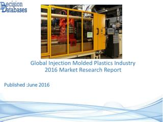 Worldwide Injection Molded Plastics Industry- Size, Share and Market Forecasts 2021