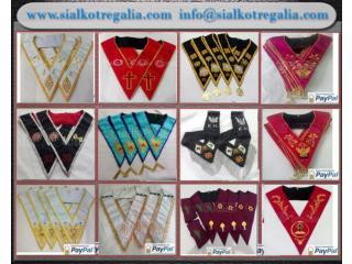 Masonic Regalia collars