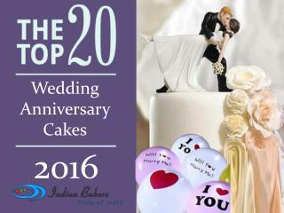 Top 20 Wedding Anniversary Cakes for 2016