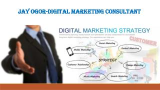 Jay Ogor-digital marketing consultant
