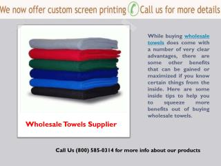 Workout Towels Supplier