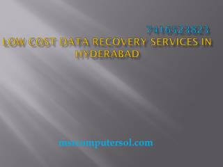 Low cost Data Recovery Services in Hyderabad,Madhapur at Home