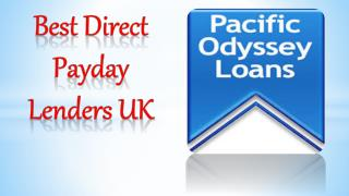 Best Direct Payday Lenders UK