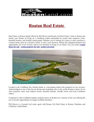 roatan house for sale