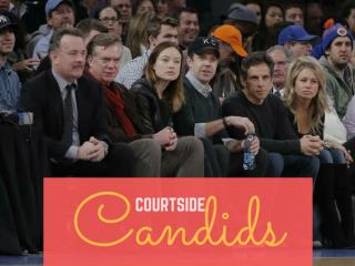 Courtside candids