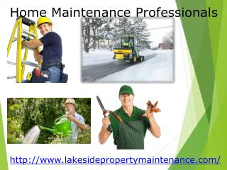Home maintenance professionals tahoe