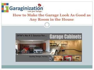 Dallas Garage Storage