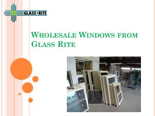 Wholesale windows in Santa Fe