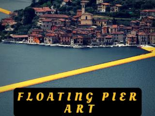 Floating Pier art