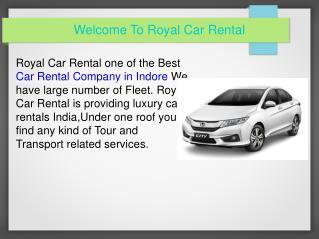 Car Rental Indore | Car Rental Company Indore