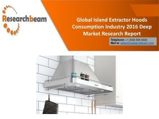 Global Island Extractor Hoods Consumption Industry 2016