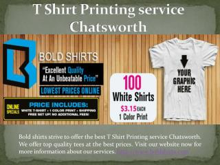 Cheap Shirt Printing Chatsworth, CA