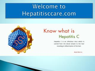 Hepatitis C and Its Causes