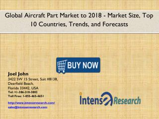 Global Aircraft Part Market 2016: Industry Analysis, Market Size, Share, Growth and Forecast 2018
