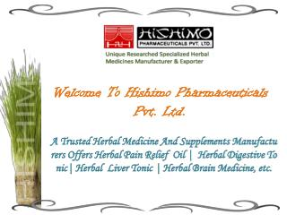 Herbal Liver Tonic Manufacturers