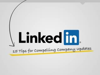 15 tips for compelling company updates