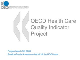 OECD Health Care Quality Indicator Project