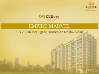 1 & 2 BHK Specious Homes on Nashik Road