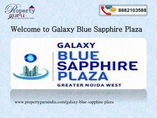 Galaxy Blue Sapphire Plaza