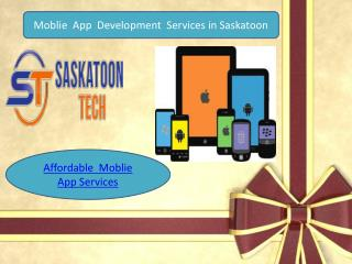 Moblie  App  Development  Services in Saskatoon