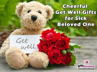 Healthy Get Well Gifts for Sick Beloved One