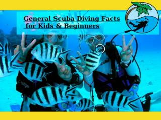 General Scuba Diving Facts for Kids & Beginners