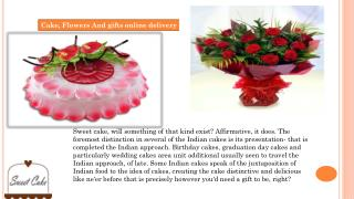 Great offers and services of sweetcake