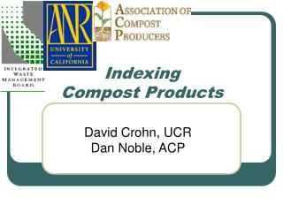 Indexing Compost Products