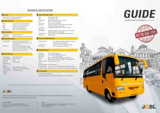 Guide: School bus manufactured by JCBL