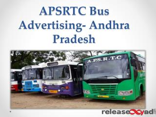 Advertising on APSRTC Andhra Pradesh Bus