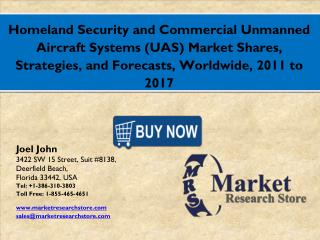 Global Homeland Security and Commercial Unmanned Aircraft Systems Market 2016: Industry Size, Key Trends, Demand, Growth