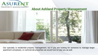 Ashland Property Management -  propertymanagementashlandoregon