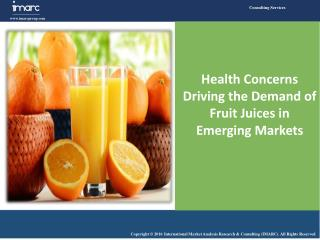 Health Concerns Driving the Demand of Fruit Juices in Emerging Markets
