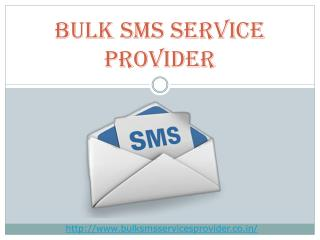 Reliable Way To Bulk SMS Service Provider