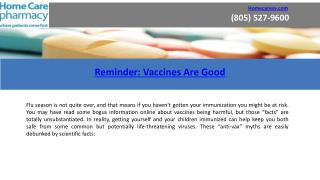 Vaccination Myths Debunked