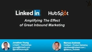 Amplifying the effect of great inbound marketing