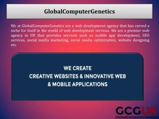 GlobalComputerGenetics a Web Development Agency in UK