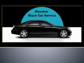 Houston black car service
