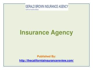 Gerald Brown Insurance Agency - Insurance Agency