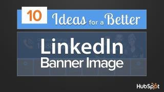 10 Ideas for a better banner image