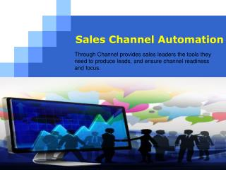 Sales Channel Automation - Sales Readiness By Through-Channel