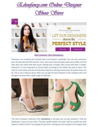 Eshoefancy.com - Eshoefancy perfect shoes- Eshoefancy Shoes For ladies & Gents