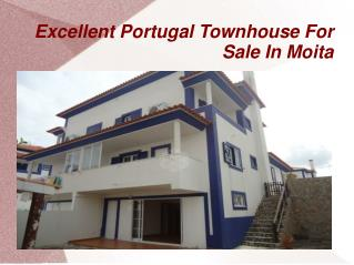 Excellent Portugal Townhouse For Sale In Moita