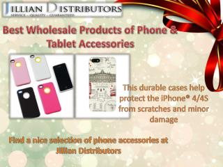 Best Wholesale Products of Phone & Tablet Accessories